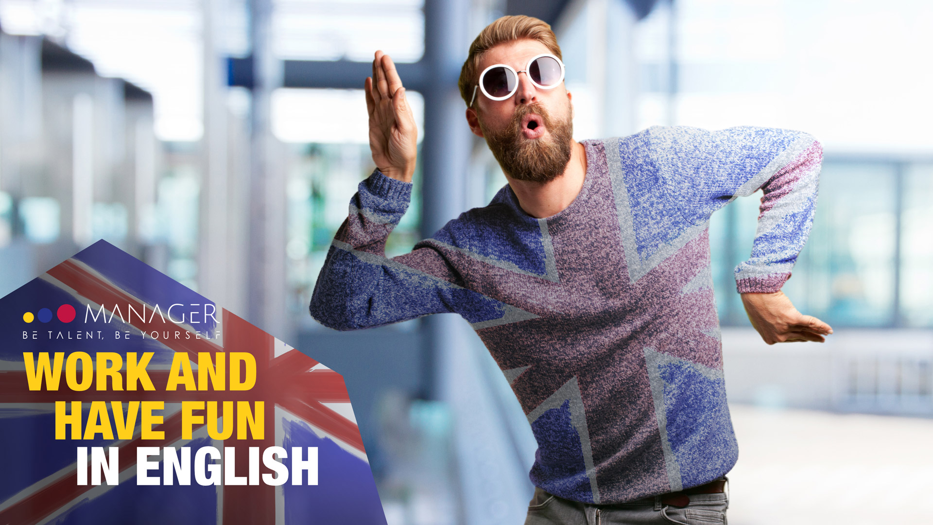 Work and have fun in English!