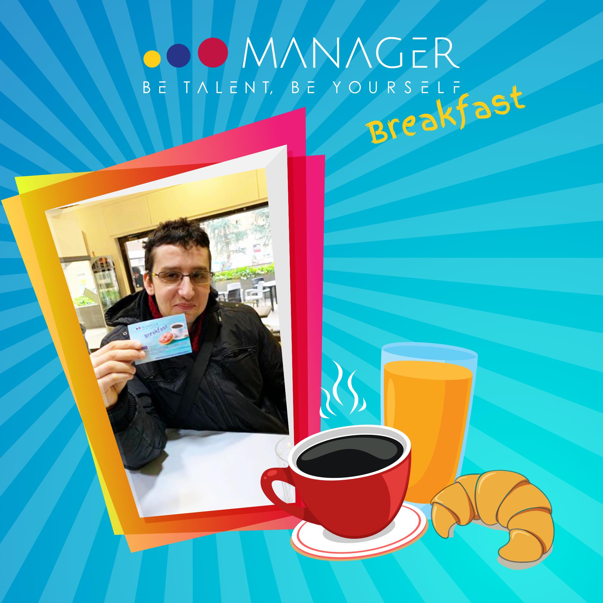 manager breakfast andrea magistro